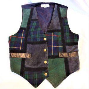 Vintage Vest Leather Women's Brandon Thomas Small
